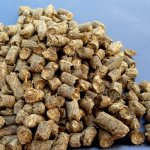 Strohpellets (Weizen) in Beuteln